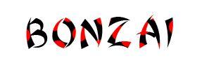 Шрифт Bonzai