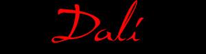 Dali шрифт