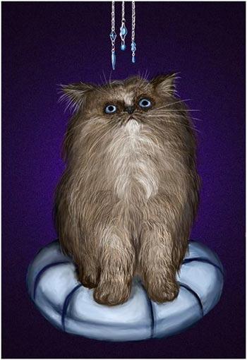 Конкурс рисунка Мой любимец - работа FatCat