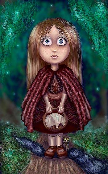 Красная Шапочка-кукла