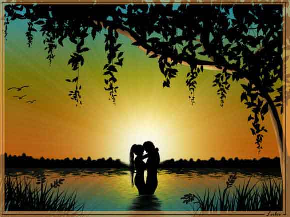 Романтичный закат