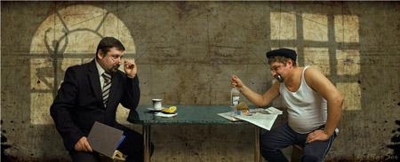"""""""Раздвоение личности"""" по песня В.С. Высоцкого И вкусы и запросы мои - странны (1969)"""