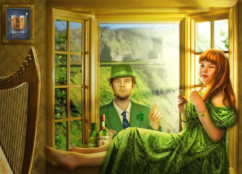 Иллюстрация к песне в Фотошоп