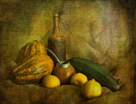 Мини-конкурс рисунка Осенний натюрморт