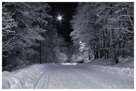Зимний фотоконкурс Свет