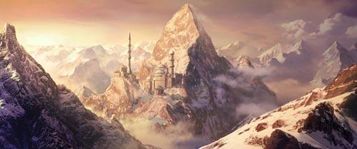 Конкурс Долина мечты (matte-painting)