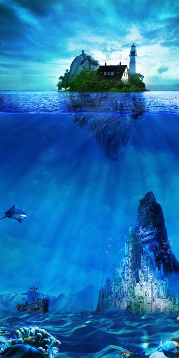 Конкурс коллажа Подводный мир