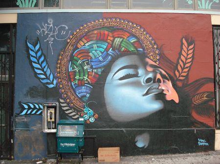 Граффити это надписи или рисунки на
