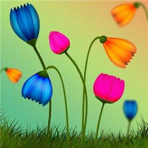 Рисуем цветок 2