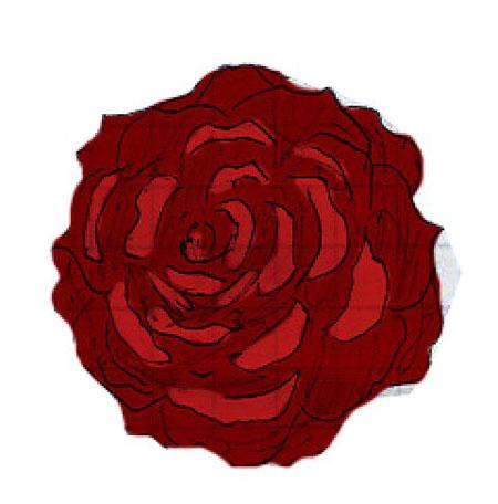 рисование розы