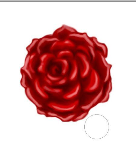 финальное изображение розы