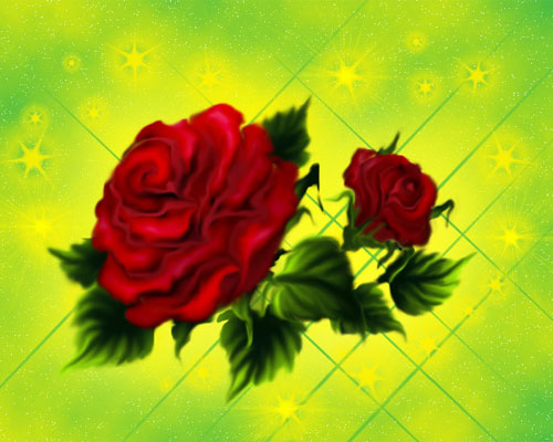 Рисуем розы без планшета