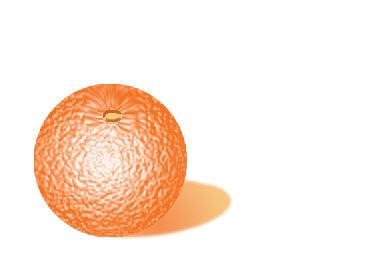 Урок по рисованию апельсина