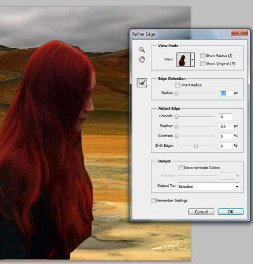 Photoshop как вырезать объект