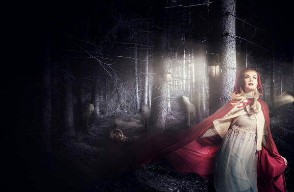 Красная шапочка в лесу фото фото 725-757