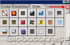 Использование стилей в Adobe Photoshop
