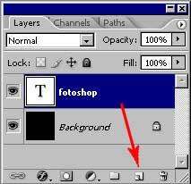Урок Adobe Photoshop по текстовым эффектам 3