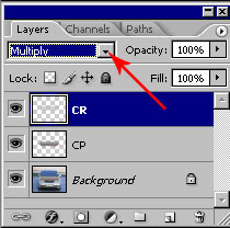 Автотюнинг в Adobe Photoshop: карбоновый капот 19