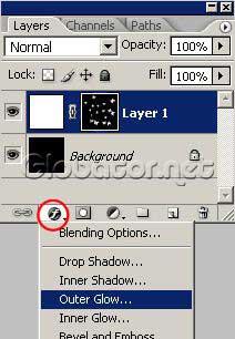 Звездные бабочки в Adobe Photoshop 9