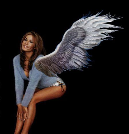 Крылья и Фотошоп
