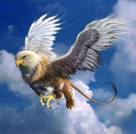 Фото монтаж крыльев в Фотошопе