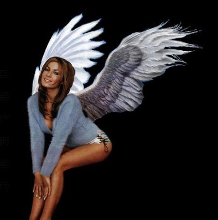Делаем фотомонтаж крыльев в Фотошопе