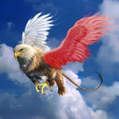 Фотомонтаж по крыльям в Фотошопе