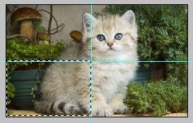 Как сделать эффект разрезанного фото