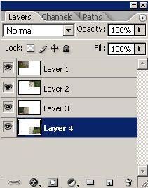 Урок по эффекту разрезанного фото в Фотошопе 3