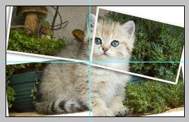 Урок по эффекту разрезанного фото в Фотошопе 15