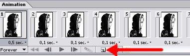 Анимированный аватар в Adobe Photoshop 11